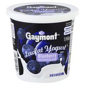 Gaymont Yogurt, Lowfat, Blueberry