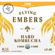 Flying Embers Hard Kombucha, Lemon