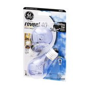 GE Reveal 40 Watts Decorative Ceiling Fan Light Bulbs