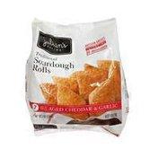Julian's Recipe Cheddar & Garlic Sourdough Bread