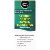 Best Choice 12 Hour Severe No Drowsy Nasal Spray