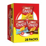 Cheez-It Cheese Cracker Chips, Thin Crisps, Lunch Snacks, Variety Pack