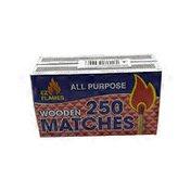Ez Flames 250 Piece Matches