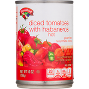 Hannaford Tomatoes with Habaneros, Diced, Hot