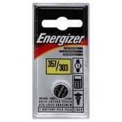 Energizer Battery, Watch/Electronic, 357/303, 1.55 V