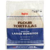 Hy-Vee Flour Large Burritos Tortillas