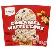 Market Pantry Ice Cream, Caramel Waffle Cone