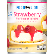 Food Lion Pie Filling or Topping, Strawberry