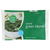 Food Club Whole Green Beans