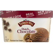 Turkey Hill Ice Cream, Premium, Dutch Chocolate