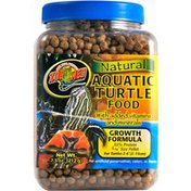 Zoo Med Natural Aquatic Turtle Food With Added Vitamins & Minerals Growth Formula