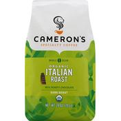 Camerons Coffee, Organic, Whole Bean, Dark Roast, Italian Roast