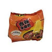 Chinese Flavor Spicy Beef Instant Noodle