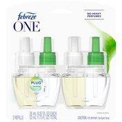 Febreze Odor-Eliminating PLUG Air Freshener Refill, Bamboo Scent