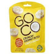 Go Co Coconut Bites, Crunchy, Simply Coconut