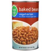 Food Club Vegetarian Baked Beans In A Sweet Brown Sugar Sauce