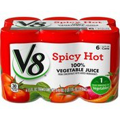V8® 100% Vegetable Juice Spicy Hot 100% Vegetable Juice
