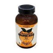 Country Life Chewable Orange Juice Vitamin C 250 mg Wafers