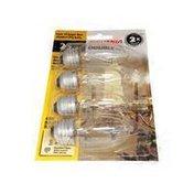 SYLVANIA 25 Watt Double Life Med Base Light Bulb