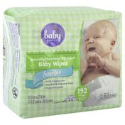 Baby Basics Baby Wipes, Sensitive