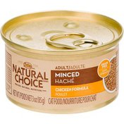 Nutro Natural Choice Adult Minced Chicken Formula Cat Food