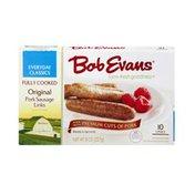 Bob Evans Farms Fully Cooked Original Pork Sausage Links - 10 CT