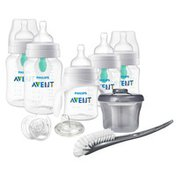 Philips Avent Avent Anti-colic Baby Bottle With AirFree Vent Beginner Baby Gift Set Clear, SCD394/03