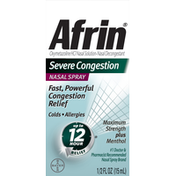 Afrin Severe Congestion, Nasal Spray