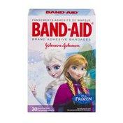 Band-Aid Disney Frozen Assorted Adhesive Bandages - 20 CT