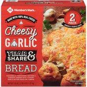 Member's Mark Cheesy Garlic Tear & Share Bread