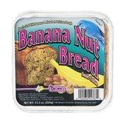 Brown's Banana Nut Bread Suet Cake