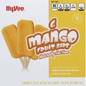 Hy-Vee Fruit Bars, Fat Free, Mango