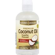 Nature's Reward Coconut Oil, Premium, Expeller Pressed