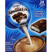 International Delight Coffee Creamer, Singles, Almond Joy
