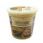 Signature Cafe Chicken Corn Chowder With White Meat Chicken Raised Without Antibiotics