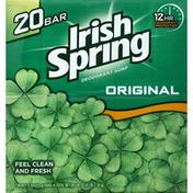 Irish Spring Deodorant Soap, Original