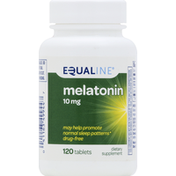 Equaline Melatonin, 10 mg, Tablets