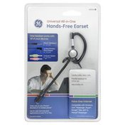 GE Earset, Hands-Free, Universal All-in-One