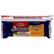 Kraft Cheese, Sharp Cheddar, Natural Reduced Fat