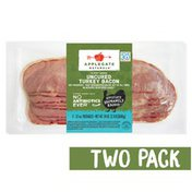Applegate Hickory Smoked Uncured Turkey Bacon