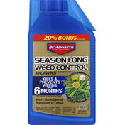 BioAdvanced Weed Control, for Lawns, Season Long, Concentrate