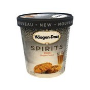 Haagen-Dazs Spirits Rum Ginger Cookie