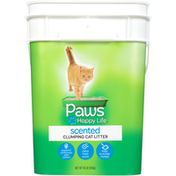 Paws Happy Life Cat Litter, Clumping, Scented