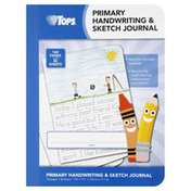 Tops Journal, Primary Handwriting & Sketch