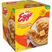 Eggo Frozen Waffles, Frozen Breakfast, Homestyle
