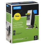 Dymo Label Maker, Plug and Play, for PC or Mac