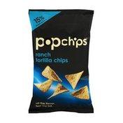popchips Ranch Tortilla Chips