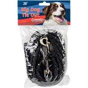 Coastal Pet 20' Black Poly Big Dog Tie Out