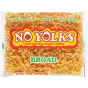 No Yolks Broad Enriched Egg White Pasta