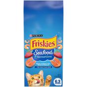 Friskies Dry Cat Food, Seafood Sensations
